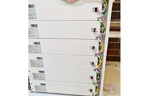 Rack de baterías para almacenamiento de energía en sistema fotovoltaico residencial