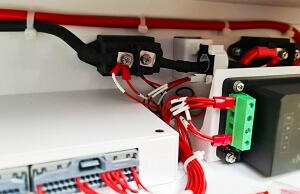 Cableado para sistema fotovoltaico de interconexión