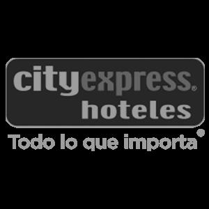 Logotipo de cliente Hoteles City Express para cargadores eléctricos México
