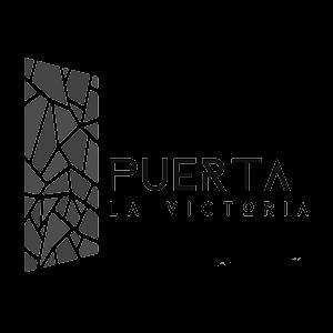 Logotipo de cliente Puerta La Victoria para cargadores eléctricos México