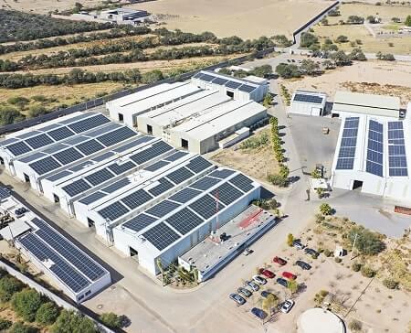 Proyecto de Instalación paneles solares México Naves Industriales