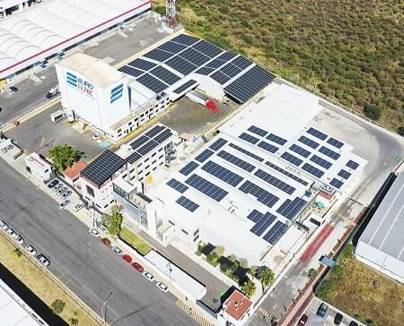 Proyecto de Instalación paneles solares México Plaza Comercial