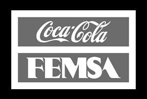 Logotipo de cliente Coca Cola FEMSA para paneles solares México