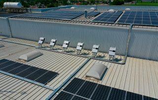 Proyecto de Instalación paneles solares México Chedraui La Paz