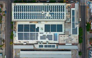 Proyecto de Instalación paneles solares México Chedraui Palacio