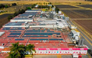 Proyecto de Instalación paneles solares México Dulces Vero