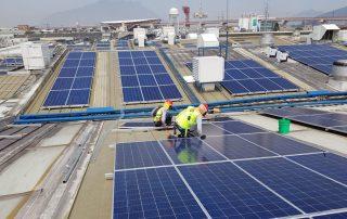 Proyecto de Instalación paneles solares México Bimbo Monterrey