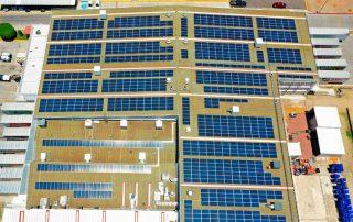 Proyecto de Instalación paneles solares México Bimbo Sonora