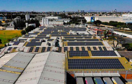 Proyecto de Instalación paneles solares México Marinela Zapopan