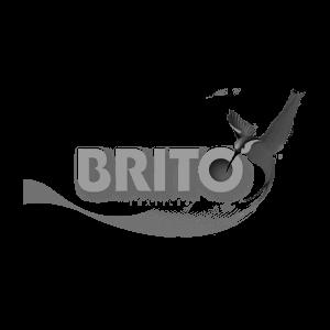 Logotipo de cliente Brito para paneles solares México