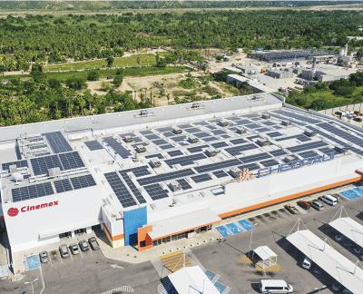 Instalación de Paneles Solares México en Plaza Comercial